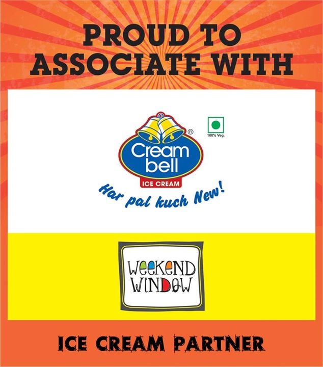 Want Some Cold Cold Icy Atmosphere..  We Welcome Our Ice-Cream Partner  CreamBell Icecreams (Official) To Weekend Window on 15-16-17 may at ymca from 4pm to midnight.   Cheers! Stay Creative. Team WW.