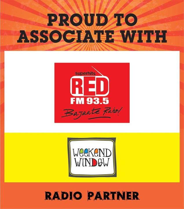 Happy to announce Red FM 93.5 Ahmedabad at Weekend Window on 15-16-17 MAY at YMCA from 4pm to Midnight.  Cheers!  Stay creative! Team WW.