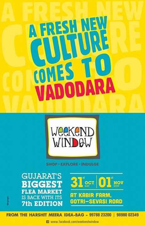 Hurray!!! VADODARAAAAA.... Are you ready to witness something totally cool??  Cheers! Stay Creative!