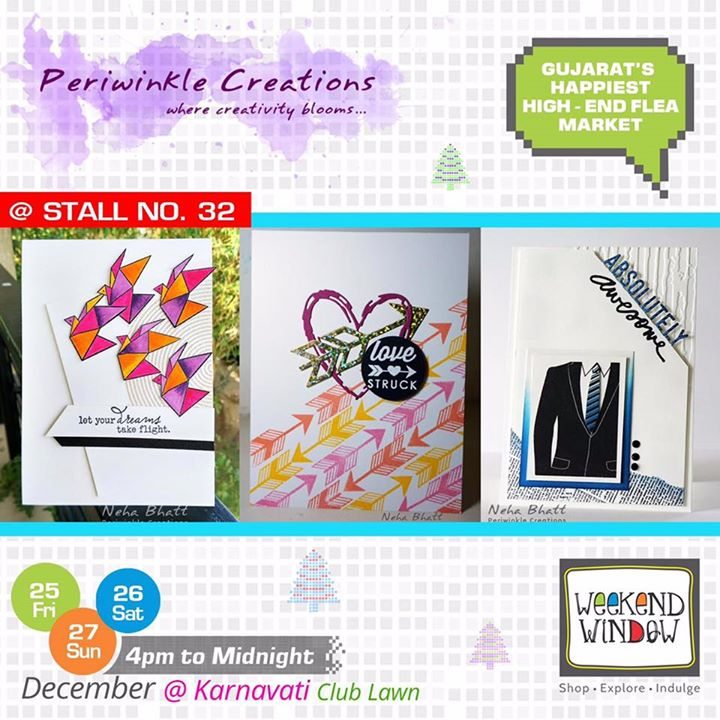 We have always loved creativity and that's why Periwinkle Creations is one of our favorite brands!! Greeting your loved one with their personal art is some awesome gift Right? Meet them at Stall no. 32 at Weekend Window  Cheers! Stay Creative! Team WW  #weekendwindow #shop #explore #indulge #kidsactivities #colorful #creativity #food #music #installations #art #workshops #ww