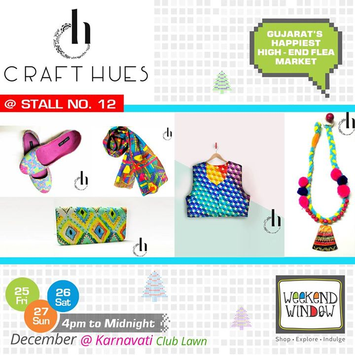 We love design. We love colors. We love simplicity. So many art and crafts in the world to explore, we believe in pushing forward and bring all the creativity together to make something unique, something which brings that WOW expression. Craft hues 15 is all about plethora of creative shades. Watch out for Craft Hues at Stall no. 12 at Weekend Window  Cheers! Stay Creative! Team WW  #weekendwindow #shop #explore #indulge #kidsactivities #colorful #creativity #food #music #installations #art #workshops #ww