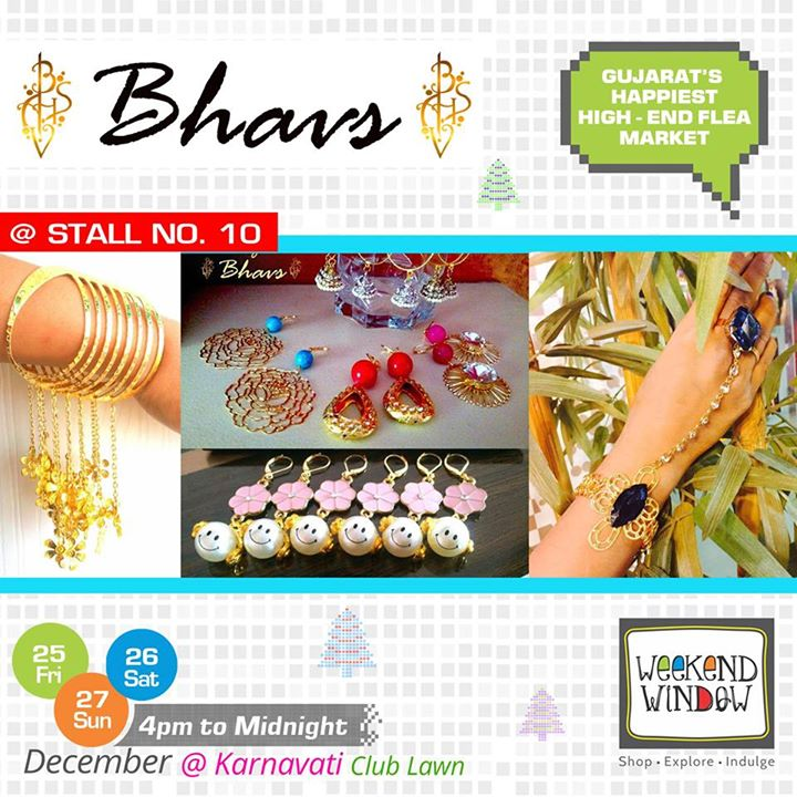 'Bhavs' Customized Jewellery is a fashion jewellery brand catering to a niche that prefers to make an everlasting impact on every occassion. Their collections are characterized by rich lively colours, semi precious stones and metal combined to make statement jewellery. Visit Stall no. 10 at Weekend Window  Cheers! Stay Creative! Team WW  #weekendwindow #shop #explore #indulge #kidsactivities #colorful #creativity #food #music #installations #art #workshops #ww