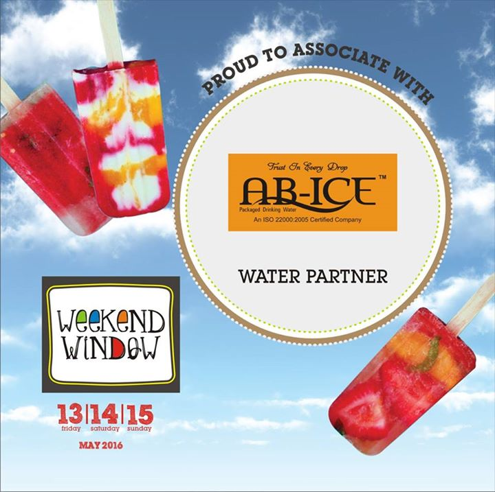 Proud to associate with Ab-Ice as our water partner.  Cheers! Stay Creative! Team WW #fleamarket #shop #explore #indulge #Ahmedabad #gujarat