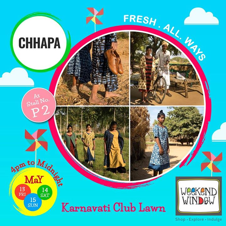 Summer is back and so do Chhapa with their Swag of Summer 2016 collection come be part of this freshness indulge in the magical feeling of their newest coolest collection.  Come and explore this freshness at Weekend Window.  Cheers! Stay Creative! Team WW #fleamarket #shop #explore #indulge #Ahmedabad #gujarat