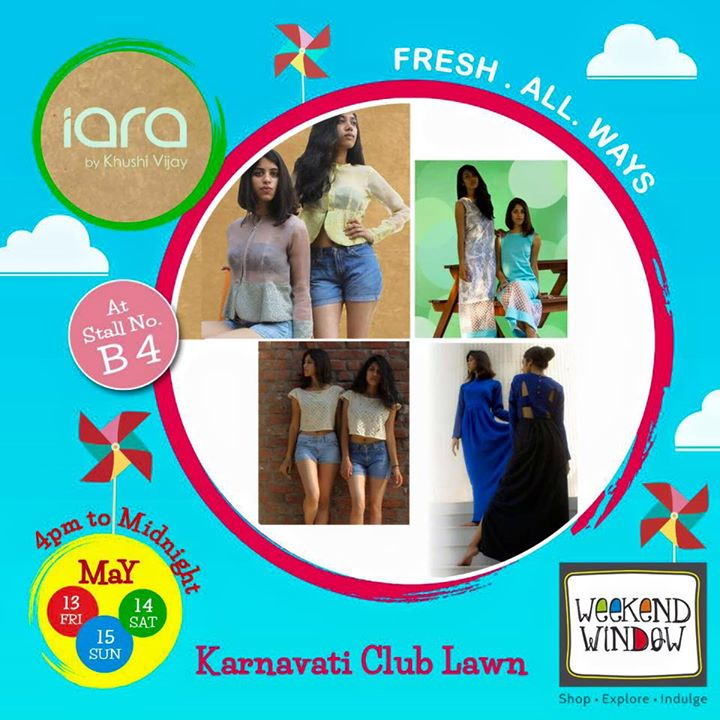 With some amazing cuts and beautiful summer friendly fabrics, Iara is here at Weekend Window to make you feel fresh and summary all ways!  Come check out her collection! Cheers! Stay Creative!