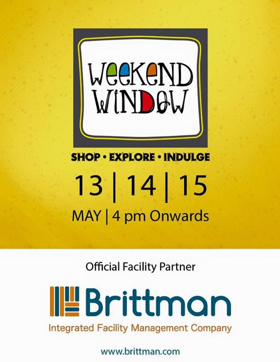 Super happy to associate with Brittman India Pvt. Ltd. for the amazing support of facilities at Weekend Window 9th Edition!!  Cheers! Stay Creative! Team WW