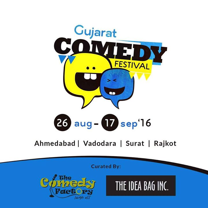 Yayyyyy #superexcited #launching #newevent from our #umbrella #brand #TheIdeaBagInc #TIBI #ThunderstormIsComing #standupcomedy #festival #Ahmedabad #vadodara #surat #rajkot #gujarat #gcf_2016 #crazyus
