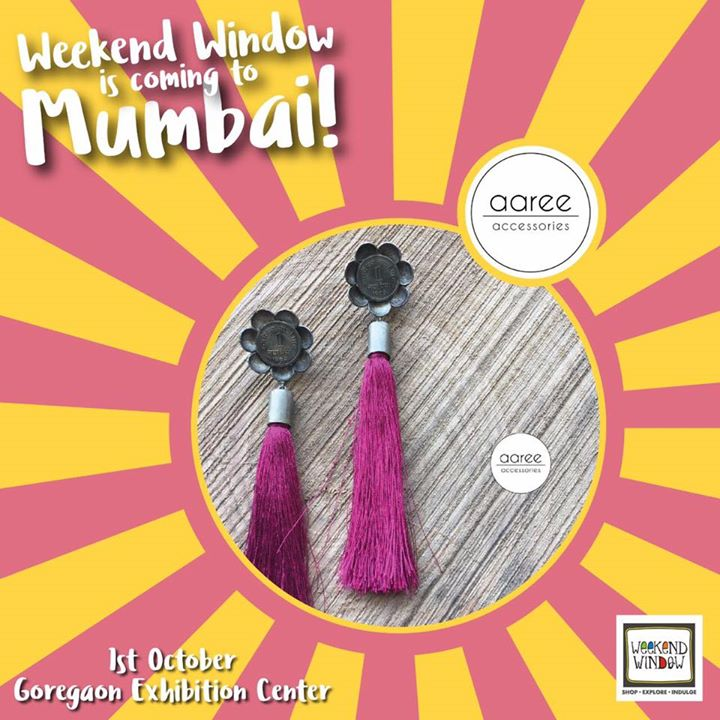 From Bhavanagar to Bombay Nagri, Aaree brings a collection of handcrafted and hand picked accessories to go with all your outfits this Navratri. Catch them at Weekend Window Mumbai for grab a he colorful range of quirky accessories.