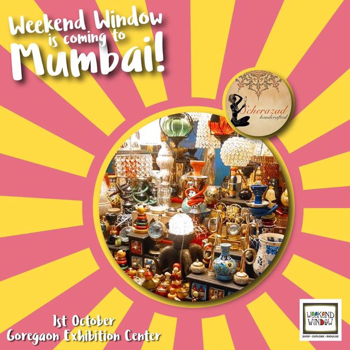 When Scherazad came to Ahmedabad, people went crazy buying their intricate handcrafted products. We are sure Mumbai is also going to be impressed by the fine art pieces and sheer perfection seen in their products.