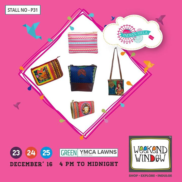 Great Indian Mela offers contemporary-chic, affordable and Indian inspired bags & products from various areas of life.  Our products are filled with color, beauty and culture that spreads happiness at home and across the globe.  Cheers! Stay Creative!