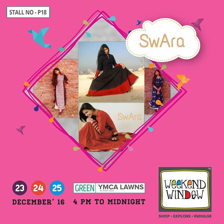 SwAra is established by Sweety & Arpana. With a vision to give elegant and classic styles at very competitive price with the focus on  wearability, femininity and comfort combined with elegance.  Cheers! Stay Creative!