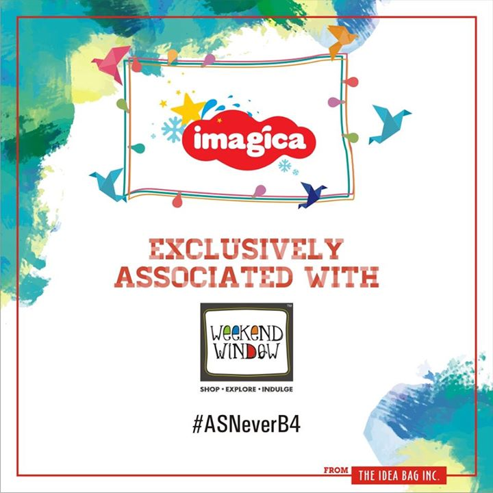 Glad to announce our association with Imagica   Cheers! Stay Creative!