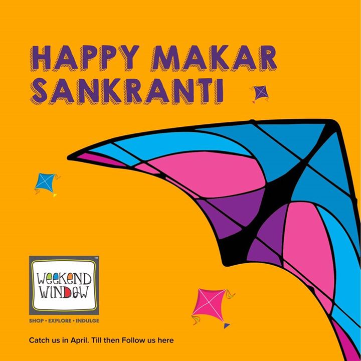 Happy Makarsankranti fellas!!! It's so beautiful and colorful out there, just as if God is in the mood to play.. Enjoy and be safe!  Cheers!  #jan2016 #makarsankranti #kiteflying #kites #beautifulsky