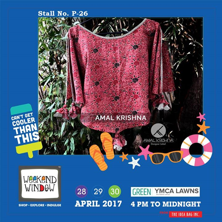 Give your attire a traditional touch by Amal Krishna with some amazing varieties only at Weekend Window...!!! #WW #wwXI #summervibe #kidsactivity #surprisesloaded #experience #shop #explore #indulge #ahmedabad #shopping #carnival #11thedition #weekendwindow #chillingtime #biggerandbetter #seeyouthere