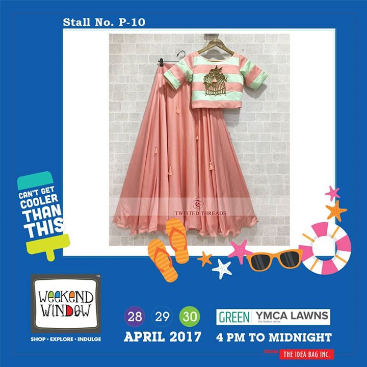 A very unique range for ethnic wear with a very fine quality by Twisted Threads only at Weekend Window XI....!!! #WW #wwXI #summervibe #kidsactivity #surprisesloaded #experience #shop #explore #indulge #ahmedabad #shopping #carnival #11thedition #weekendwindow #chillingtime #biggerandbetter #seeyouthere
