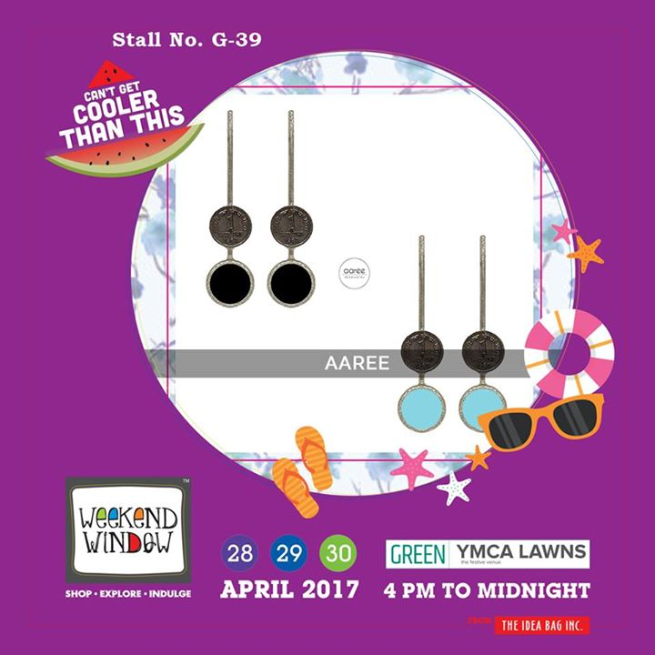 Bold yet elegant, hand-crafted jewelry is what Aaree offers to you...!!  Get the mesmerizing, fresh and vibrant accessories only at Weekend Window XI..!!  #WW #wwXI #summervibe #kidsactivity #surpriseloaded #experience #shop #explore #indulge #ahmedabad #shopping #carnival #11thedition #weekendwindow #chillingtime #biggerandbetter #seeyouthere