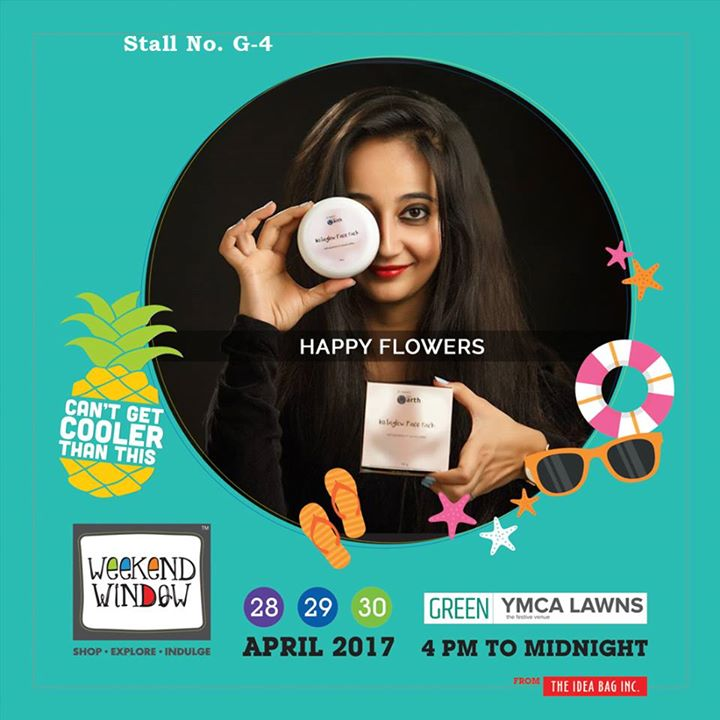 Happy Flowers products are vegan, natural, handmade and no animal testing is done, enjoy the lush and stress free experience...!!! Give your body an beautiful touch at Weekend Window XI ..!!! #WW #wwXI #summervibe #kidsactivity #surpriseloaded #experience #shop #explore #indulge #ahmedabad #shopping #carnival #11thedition #weekendwindow #chillingtime #biggerandbetter #seeyouthere