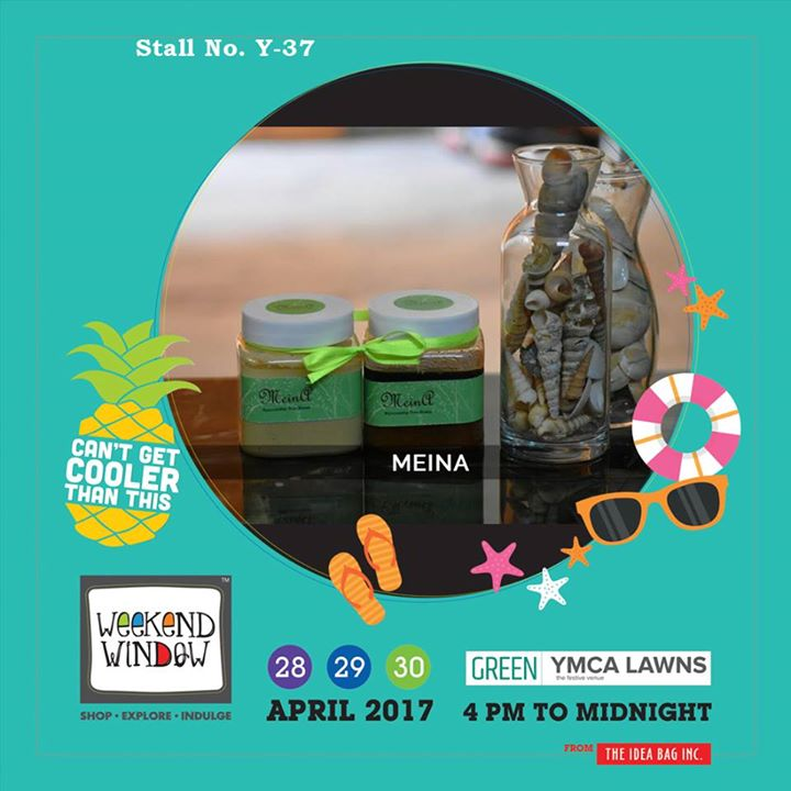 Here comes MeinA.... Treasure full of ancient secrets of beauty.....!! Nurture and nourish yourself with the touch of nature.!  Let your skin breath with the help of MeinA only at Weekend Window XI...!!!  #WW #wwXI #summervibe #kidsactivity #surpriseloaded #experience #shop #explore #indulge #ahmedabad #shopping #carnival #11thedition #weekendwindow #chillingtime #biggerandbetter #seeyouthere
