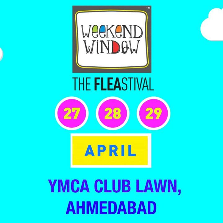 Countdown Begins!!!  Only a month to go for Gujarat's Happiest Fleastival, Weekend Window!! This summer, we go bright, quirky and neony bringing in the best of curated  experience of 200+ shopping brands and 30+ food & beverages brands.   Be there to experience happiness and madness at one place... Weekend Window!  27-29th April'18, YMCA Lawns, 4pm onwards  #weekendwindow #countdownbegins #fleamarket #shopping #food #music #kidscarnival #DoNotMiss