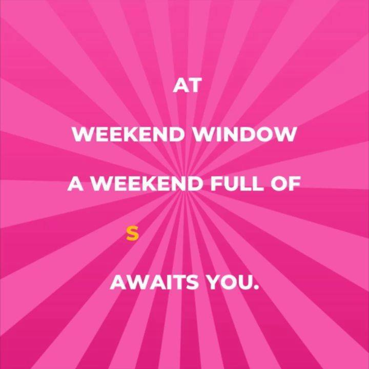 Where all your weekend desires find a home ❤  Bookings for #WeekendWindow 17 open now! 200+ shopping brands, zesty food stalls, live performances and much more! Gujarat's biggest fleastival awaits you. Come, #ExploreTheWeekend #WindowToHappiness