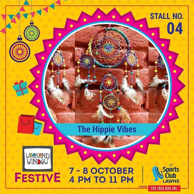 Over a cup of morning java Scanning my daily mail The one thing I saw that interested me Is they were selling a back to 60's Hippie Trend. diwalipreparations. @thehippievibes #weekendwindow #theideabaginc #curatedevent #diwalishopping #weekendwindowfestive #fleastival #prediwali #shopping #diwaligifting #sportsclubofgujarat #diwalivibes #festivevibes #shoptillyoudrop #homedecor  #kidsactivities #workshops #art #learning #craft #Foodaholics #Fun #Entertainment #music #enjoyement #love #Fleamarket #friendship