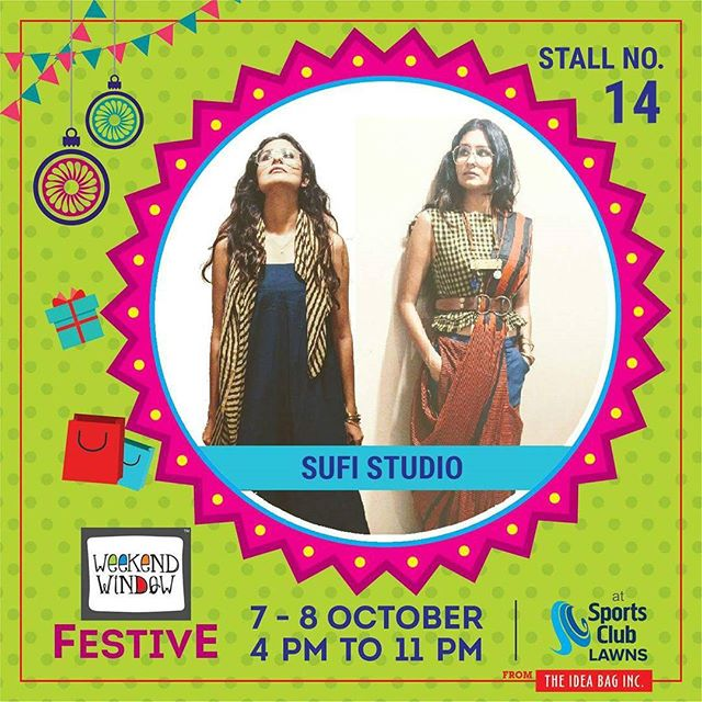 The Sufi Studio is a timeless style and they believe in style over fashion &trends. Hence can be worn years down the line. @thesufistudio  #weekendwindow #theideabaginc #curatedevent #diwalishopping #weekendwindowfestive #prediwali #shopping #diwaligifting #sportsclubofgujarat #diwalivibes #festivevibes #festivities #shoptillyoudrop #kidsactivities #workshops #art #craft #Foodaholics #Fun #Entertainment #music #enjoyement #love #foodporn #foodbitting #Fleamarket #newfashiontrends