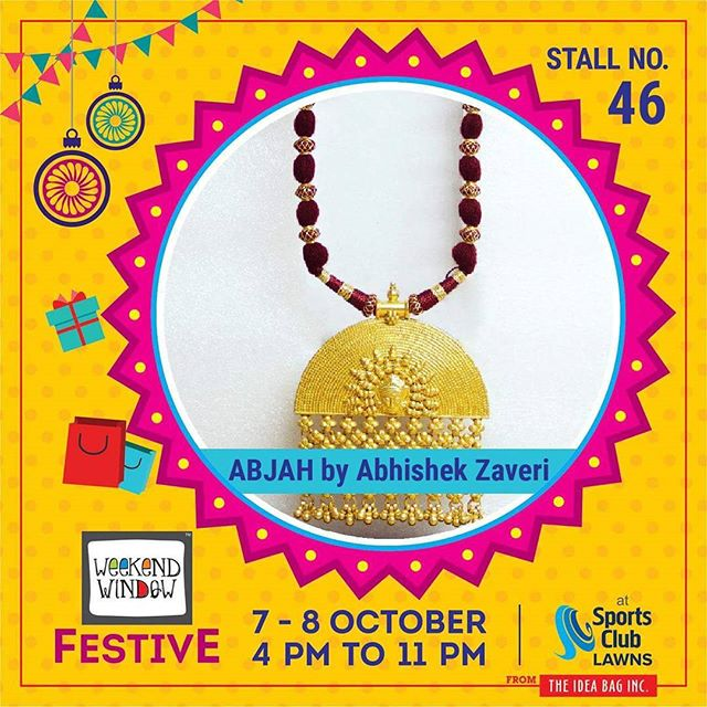 @abjahbyabhishekzaveri is for new age ornaments and is  rooted in unpretentious and rustic India. The Brand has evolved out of understanding of contemporary products and serving the jewellery at a wide platform - 'handmade with industrial.' Being its motto