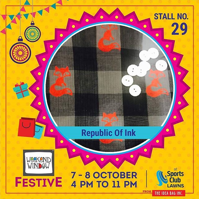 Weekend Window,  republicofink, weekendwindow, theideabaginc, curatedevent, diwalishopping, weekendwindowfestive, prediwali, shopping, diwaligifting, sportsclubofgujarat, diwalivibes, festivevibes, festivities, shoptillyoudrop, whatwomanwants, kidsactivities, workshops, art, craft, Foodaholics, Fun, Entertainment, music, enjoyement, love, foodporn, foodbitting, Fleamarket