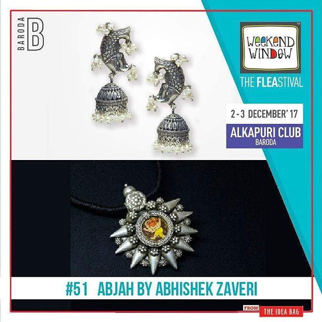 Abjah- @abhishek.zaveri  is for new age ornaments and is rooted in unpretentious and rustic India. The Brand has evolved out of understanding of contemporary products and serving the jewellery at a wide platform - 'handmade with industrial.' Being its motto