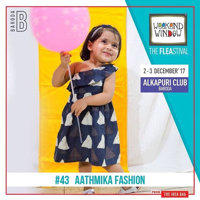 @aathmikafashion is a promise of the soul. Clothing for your little one. The purest, softest fabrics, styling them into chic outfits for your little stars. Stylish yet natural clothes for your children.  #WeekendWindow #entertainment #Barodabeready #workshops #Fun #shopping #theFLEAstival