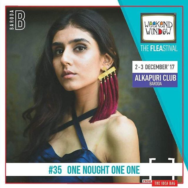 @one_nought_one_one is a lifestyle apparels and accessories company founded by four  madcap design graduates who share a common love for all things creative. With our new collection, we bring to you accessories that reek of style and apparels that reflect how casual is always cool.  Date: 2-3 December, 2017 Time: 4 pm to 11 pm Venue: Alkapuri Club Lawn, Baroda #weekendwindow #theFLEAstival #shop #explore #induge #ahmedabad #barodaherewecome