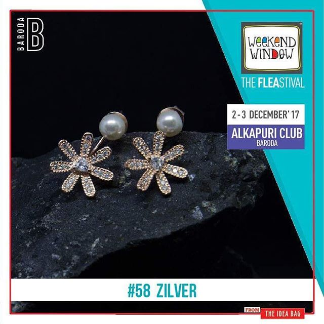 @zilverofficial – Silver for the Soul Top quality finish, high design quotient are the hallmarks of the brand ZILVER.The jewellery resonates with the aesthetics of the modern Indian woman. From day wear to bold, occasion driven jewellery. Zilver offers a range of jewellery products such as statement rings, bracelets, earrings, necklaces and much more.  Date: 2-3 December, 2017 Time: 4 pm to 11 pm Venue: Alkapuri Club Lawn, Baroda #weekendwindow #theFLEAstival #shop #explore #induge #ahmedabad #barodaherewecome