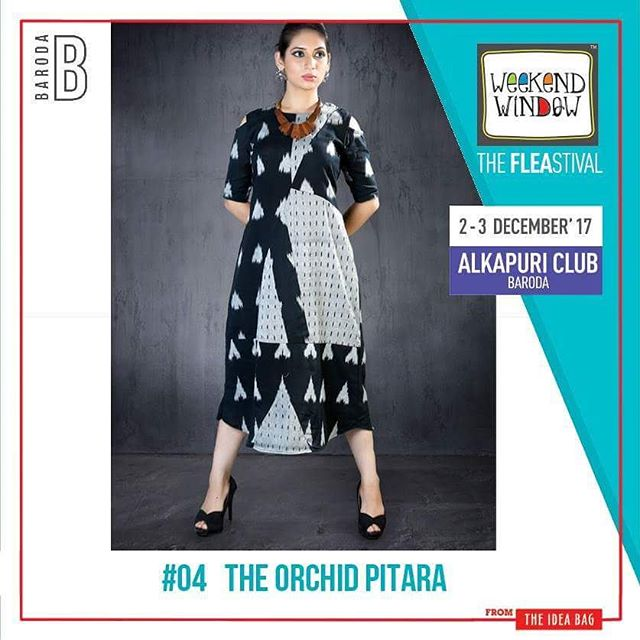 @theorchidpitara believes in creating clothing made from organic naturally dyed fabrics which are simple, comfortable and with modern and contemporary cuts. Date: 2-3 December, 2017 Time: 4 pm to 11 pm Venue: Alkapuri Club Lawn, Baroda #weekendwindow #theFLEAstival #shop #explore #induge #ahmedabad #barodaherewecome