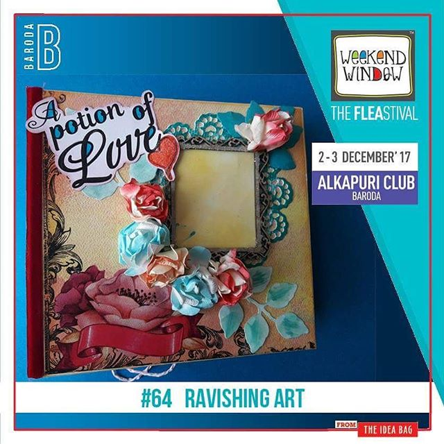 Ravishing Art is an art of crafting from which all types of gifting products & carved tea light holders are made. Customized gifting options are also available.  Date: 2-3 December, 2017 Time: 4 pm to 11 pm Venue: Alkapuri Club Lawn, Baroda #weekendwindow #theFLEAstival #shop #explore #induge #ahmedabad #barodaherewecome