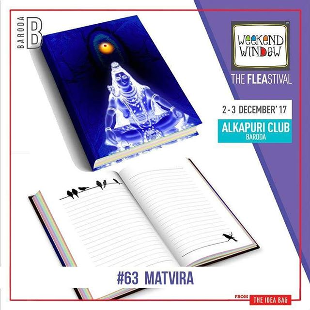 @matviracreations is a brand which is into diaries, notebooks, mobile covers, post cards, bookmarks & much more personalized gifting material.  Date: 2-3 December, 2017 Time: 4 pm to 11 pm Venue: Alkapuri Club Lawn, Baroda #weekendwindow #theunbeatable #theFLEAstival #shop #explore #induge #ahmedabad #barodaherewecome