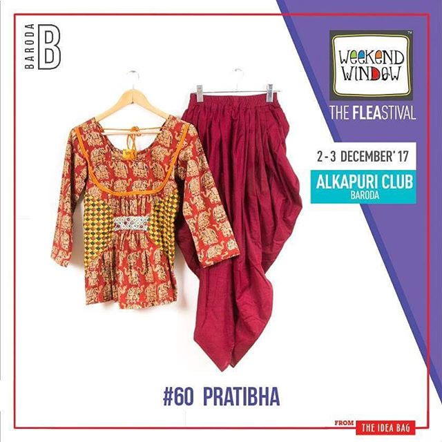 Pratibha - The Vintage Designer Studio  brings some of  the extravaganza collection of fabrics from the root of Indian Culture turning into 'Adhunik' wear.  Date: 2-3 December, 2017 Time: 4 pm to 11 pm Venue: Alkapuri Club Lawn, Baroda #weekendwindow #theFLEAstival #shop #explore #induge #ahmedabad #barodaherewecome