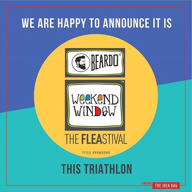 We are super excited to make this announcement... It's BEARDO weekendwindow  for all 3 cities of @weekendwindow  Triathlon!! Let's make sure all the men coming along also get something to look impeccable and ravishing! #1daytogo Date: 2-3 December, 2017 Time: 4 pm to 11 pm Venue: Alkapuri Club Lawn, Baroda #weekendwindow #theFLEAstival #shop #explore #induge #ahmedabad #barodaherewecome