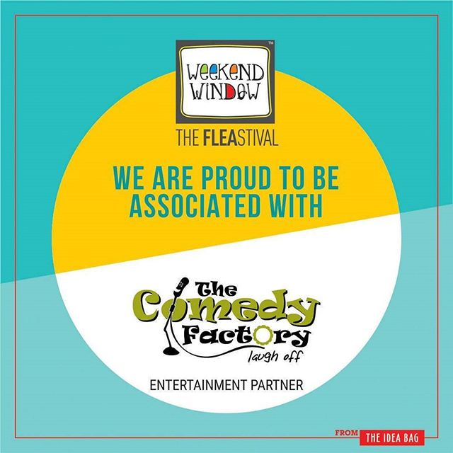 Laughter is an instant vacation.. @thecomedyfactoryindia  has always been into the zone setup the comedy scenes of Gujarat on a new league altogether. Try out their new content while they make you laugh this weekend at Weekend Window.. #1daytogo Date: 2-3 December, 2017 Time: 4 pm to 11 pm Venue: Alkapuri Club Lawn, Baroda #weekendwindow #theFLEAstival #theunbeatable #shop #explore #induge #ahmedabad #barodaherewecome