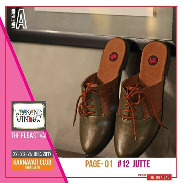 @jutte2015 shoes are the finishing touch on any outfit and it is important to complete a look with the perfect pair of shoes!  @yellowchidiya they are coming with beautiful collection of earring ,dreamcatcher,handmade accessories etc.  @natureocare beauty is very important for everyone .So there is a easy solution for all with natural ingredient and no harmful chemicals and give you glowing and natural skin.  @thesleeplabel gives you a helping hand to add fashion and style to your Night- wardrobe they gives Comfortable and Cosy to sleep in  Relax.  More than 170 shopping brands, 25 food brands, kids activities, workshops, entertainment, bands, DJ & stand up comedy, and a lot more...! Date: 22-23-24 December, 2017 Time: 4 pm to 11 pm Venue: Karnavati Club Lawn, Ahmedabad #weekendwindow #theFLEAstival #theunbeatable #shop #explore #indulge #fleamarket #workshops #love #BeardoWeekendWindow