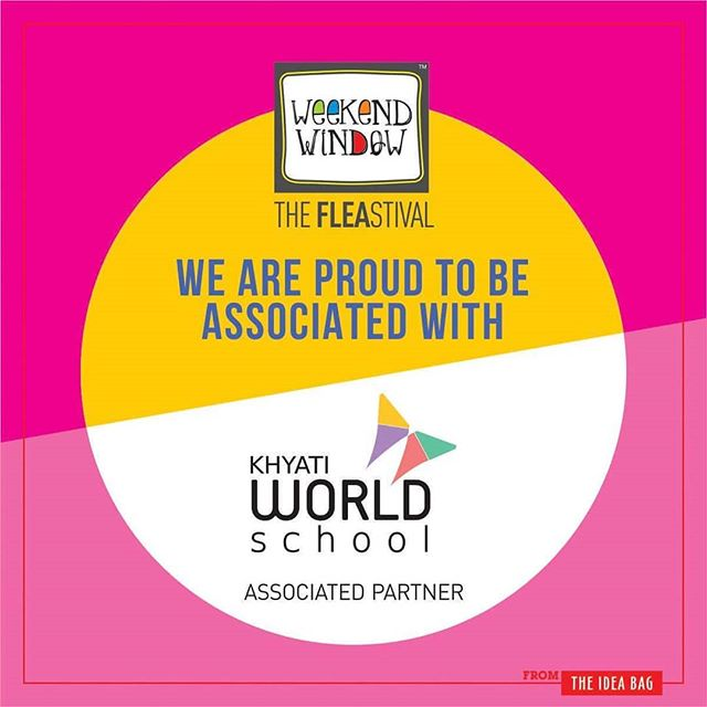 We are happy to announce that Beardo Weekend Window XII Edition - Ahmedabad has been associated with khyati world school So get ready everyone to join us at Beardo Weekend Window XII Edition - Ahmedabad  More than 180 +shopping brands, 25 Food Brands, Kids Activities, Workshops, Entertainment, Bands, DJ & Stand Up Comedy, and a lot more...! Date: 22-23-24 December, 2017 Time: 4 pm to Mid night Venue: Karnavati Club Lawn, Ahmedabad #weekendwindow #theFLEAstival #theunbeatable #shop #explore #indulge #fleamarket #workshops #love #BeardoWeekendWindow