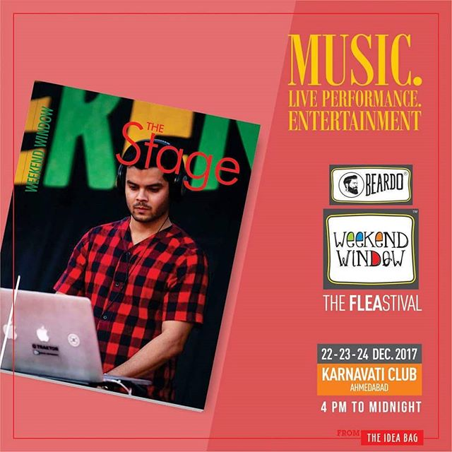 Its never lul Beardo Weekend Window XII Edition - Ahmedabad The beats, energy and vibes keep us going all evening. Getting ready with our line-up to yet again make you people sway.. More than 180 + shopping brands, 25 Food Brands, Kids Activities, Workshops, Entertainment, Bands, DJ & Stand Up Comedy, and a lot more...! Date: 22-23-24 December, 2017 Time: 4 pm to Mid night Venue: Karnavati Club Lawn, Ahmedabad #weekendwindow #theFLEAstival #theunbeatable #shop #explore #indulge #fleamarket #workshops #love #BeardoWeekendWindow
