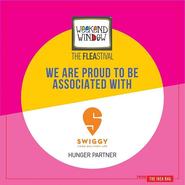 Beardo Weekend Window XII Edition - Ahmedabad is associated with Our hunger partner @swiggyindia  ore than 180 +shopping brands, 25 Food Brands, Kids Activities, Workshops, Entertainment, Bands, DJ & Stand Up Comedy, and a lot more...! Date: 22-23-24 December, 2017 Time: 4 pm to Mid night Venue: Karnavati Club Lawn, Ahmedabad #weekendwindow #theFLEAstival #theunbeatable #shop #explore #indulge #fleamarket #workshops #love #beardoweekendwindow
