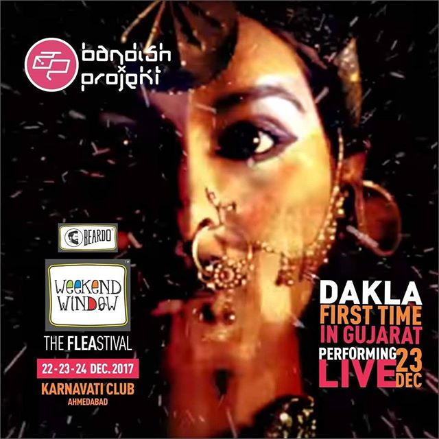 FIRST TIME EVER Performing LIVE in GUJARAT The Unbeatable Bandish Projekt on board Beardo Weekend Window XII Edition - Ahmedabad. Get ready to sway with the grooves of their  music... More than 180 +shopping brands, 25 Food Brands, Kids Activities, Workshops, Entertainment, Bands, DJ & Stand Up Comedy, and a lot more...! Date: 22-23-24 December, 2017 Time: 4 pm to Mid night Venue: Karnavati Club Lawn, Ahmedabad #weekendwindow #theFLEAstival #theunbeatable #shop #explore #indulge #fleamarket #workshops #love #beardoweekendwindow