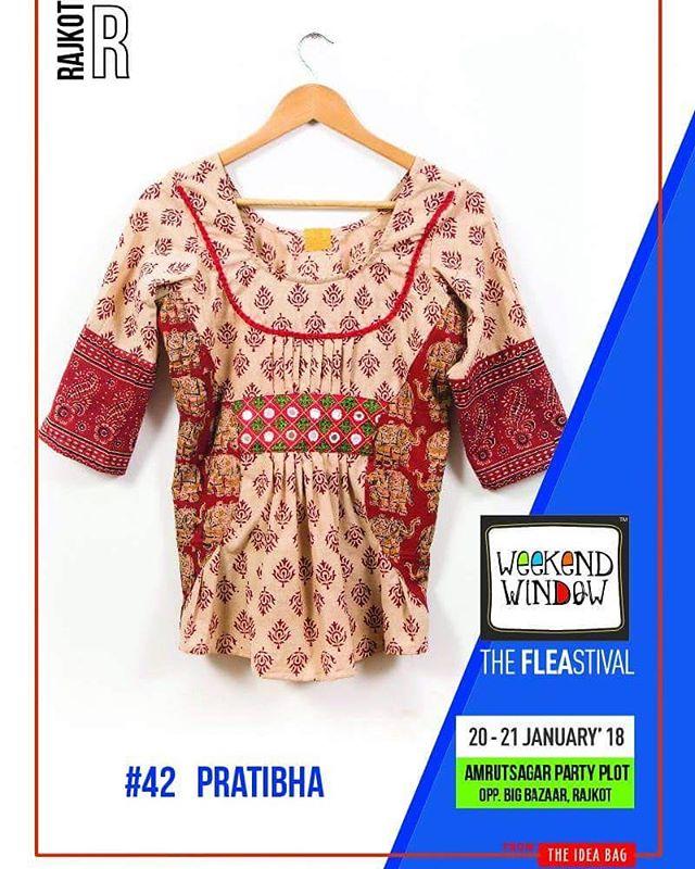 Pratibha is a clothing brand. We have trending clothes for women.  Beardo @weekendwindow - Rajkot 1st Edition  Date: 20-21 January, 2018 Time: 4 PM to 11:00 PM Venue: Amrutsagar Party Plot, Rajkot  #weekendwindow #theFLEAstival #theunbeatable #shop #explore #indulge #fleamarket #workshops #love #BeardoWeekendWindow