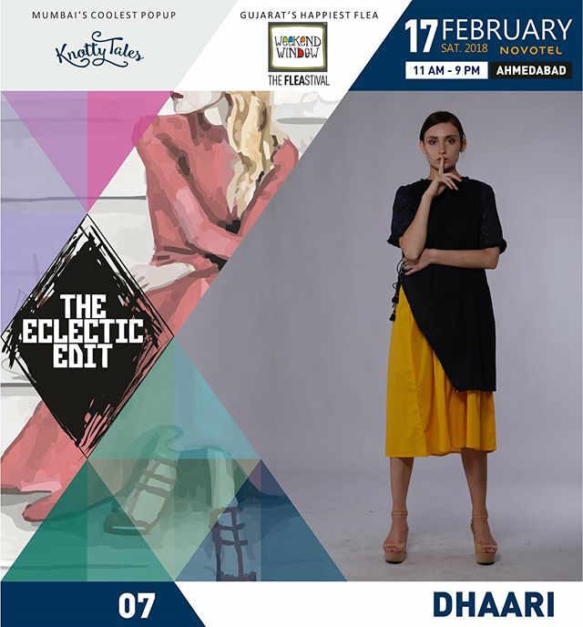 High-end fashion, luxury shopping, exclusive collection, we have it all for you at The Eclectic Edit - Season 2 by @knottytales_kt and @weekendwindow. 50 designers and fresh new stock! Come and have a great time shopping with us!  #theeclecticedit #season2 #TEE2 #knottytales #weekendwindow #luxuryshopping #popup #whatsmartwomenwear #shoptillyoudrop #ahmedabad #ahmedabadbloggers #custommade