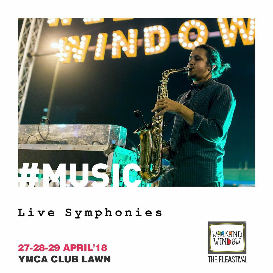Experience Live Music Performances that directly touch your heart at the happiest place to be this summer, Weekend Window!  27-28-29 April, 2018 at YMCA International Centre - Ahmedabad.  #ww13 #weekendwindow #thefleastival #happiness #play #explore #indulge #music #liveperformances #shoptillyoudrop #fleamarket #summernights #summer #wwxiii #something #new #amazing #comingsoon