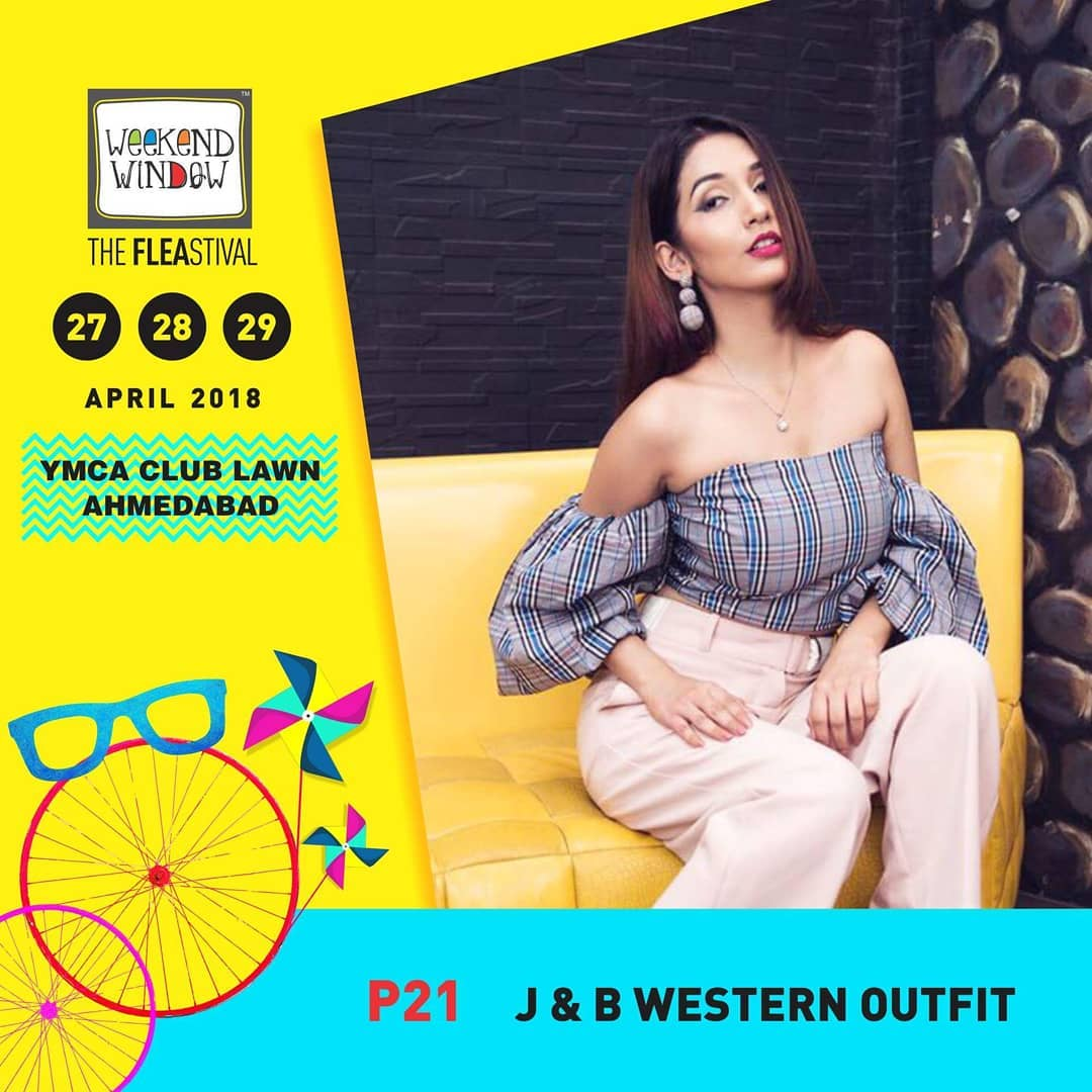 A brand that believes fashion is more than just style-its a lifestyle. Whether you are a teenager or a woman of substance, J&B WesternOutfit have the widest range of western ensembles guaranteed to turn life into your own personal catwalk.  Do check out their collection only at @weekendwindow, 27th-28th-29th Apr'18, YMCA Lawns, 4pm onwards!  #weekendwindow #fleastival #happiestplace #shopping #fun #fleamarket