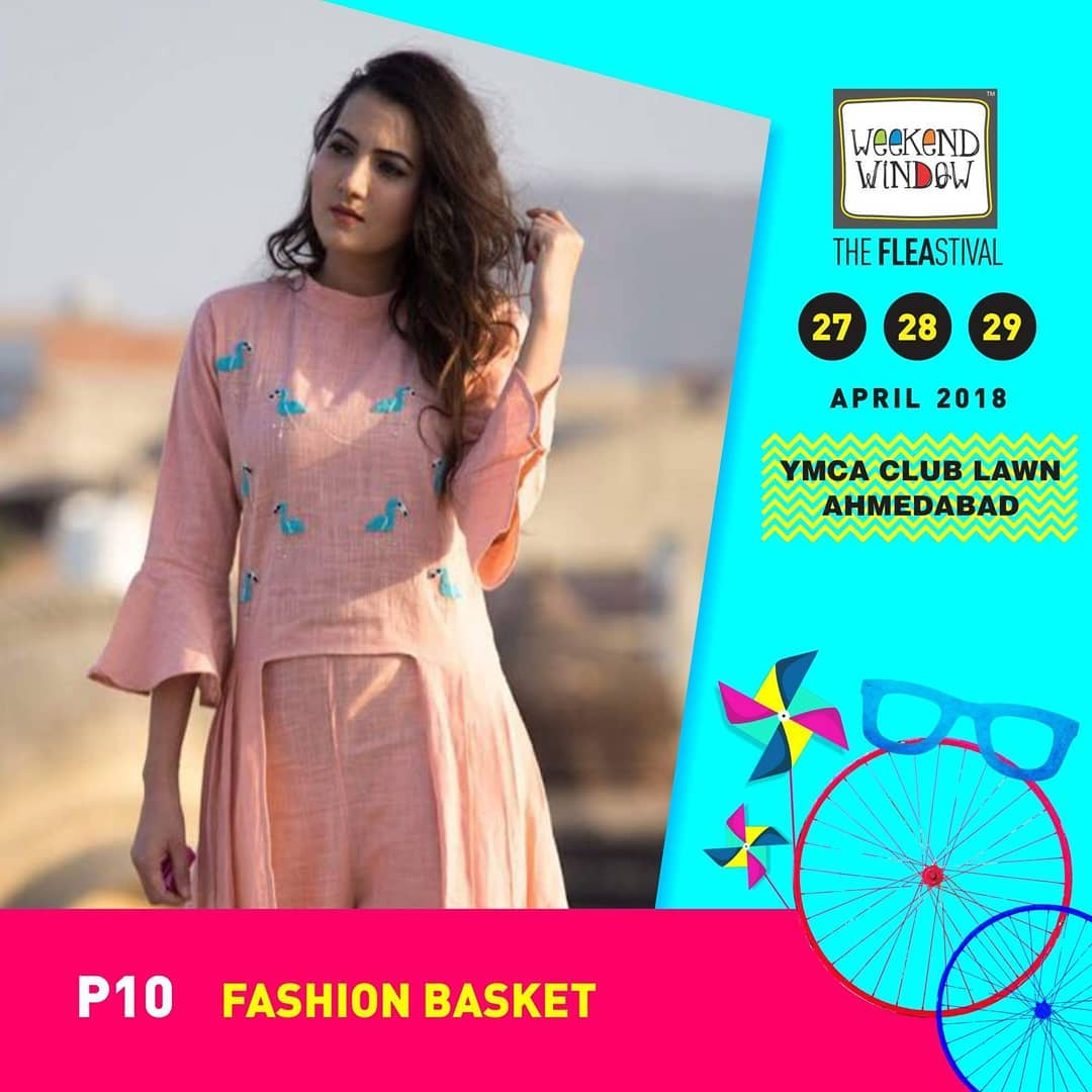 Fashion Basket brings some of the extravaganza summer collection of indo-western wear only at the 13th Edition of @weekendwindow !  27th-28th-29th April'18. 4PM Onwards, YMCA Club Lawns  #weekendwindow #theFLEAstival #shop #explore #induge #ahmedabad #barodaherewecome