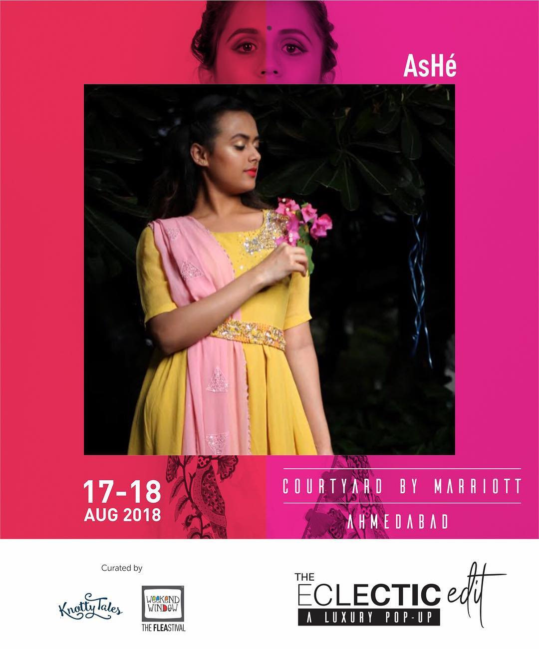 @ashebyashruti.heena - a label by Ashruti and Heena is a contemporary fashion brand specializing in handcrafted Indian Occasion Wear for the confident, global woman. Check out their festive collection, specially handcrafted for the women of power.  65+ brands showcasing at The Eclectic Edit - a curated luxury pop-up by Knotty Tales & Weekend Window  #AsHéfestivehues #ootd #instastyle #whatiwore #weekendstyle #detailing #tassel #colourpop #sundress #tieup #whitedress #handloom #flatlay #instalike #trendy #theeclecticedit #knottytales #weekendwindow