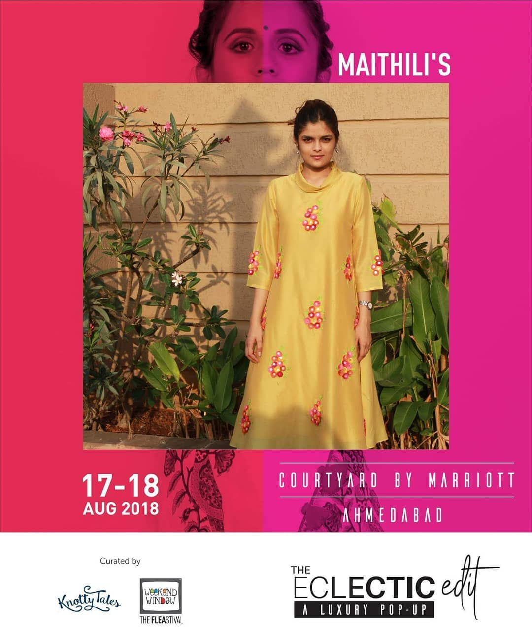 @mai.go.label is a textile and fashion label which celebrates Indian Textiles. They specialise in Luxury Daily Wear for comfort for Indian Woman. Fashion junkies would value consistent with the ecosystem of their fashion label.  65+ designers showcasing at The Eclectic Edit curated by @knottytales_kt & @weekendwindow .  #makeinindia #handblockprint #handmade #sustainable #upcycle #instafashion #indiantextile #textile #modernisingindiantextile #luxurydailywear #theeclecticedit #knottytales #weekendwindow #luxury #popup #festive